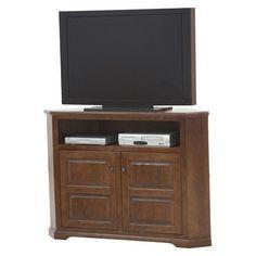 Eagle Furniture Manufacturing Savannah TV Stand Finish: European Cherry, Door Type: Plain Glass