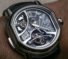 Bulgari Daniel Roth Carillon Tourbillon Minute Repeater Watch Hands On   hands on