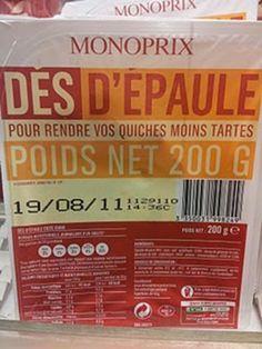 Monoprix a le sens de l'humour, la preuve avec ces 22 jeux de mots sur des emballages...