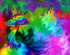 Psychedelic Pictures Art   Psychedelic Fungi by ~HidEmu on deviantART