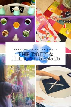 2020 Tot School: The Body & The Five Senses 💀 – Everyday a Little Grace