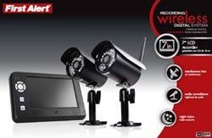 BRK 2.4 GHz Wireless Digital Recording System, LCD Display & 2 Cameras, DW-702 by BRK. $430.82. The DW-702 First Alert Security Camera System comes with two cameras and allows you to be proactive when defending valuables and loved ones. With an all-weather shield and mounting kit, the cameras can be placed both indoors and outdoors and are mounted with ease in any location. The CMOS image sensor digital wireless technology uses little power, saving you money and offers a clear pi...