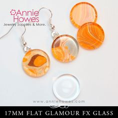 GFX Glamour FX Glass 17mm Circle Flat – Annie Howes