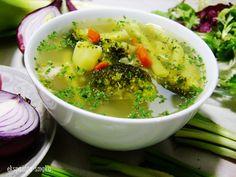 zupa jarzynowa na bulionie