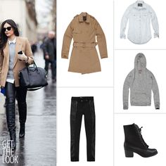 Get The Look, trench coat, coturno, combat boots, tricot