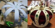 DIY crown with cardboard