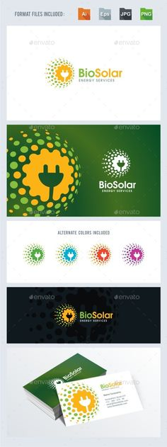 Bio Solar Energy Services Logo Template Vector EPS, AI. Download here: http://graphicriver.net/item/bio-solar-energy-services/11636226?ref=ksioks