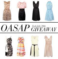 Oasap giveaway :D