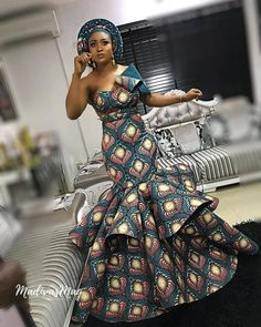 The ideal source for your afro chic life style and fashion site African Fashion Ankara, African Print Fashion, Africa Fashion, African Wear, African Dress, African Prom Dresses, Ankara Dress Styles, Ankara Gowns, Ankara Wedding Styles