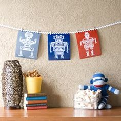 How cute are these for kids rooms!
