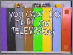"The awesome show on Nickelodeon where if you said ""I don't know..."" you got SLIMED! (Alanis Morrissette also got her start on this show!)"
