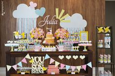 You Are My Sunshine themed party