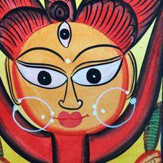 Devi Shakti Patachitra