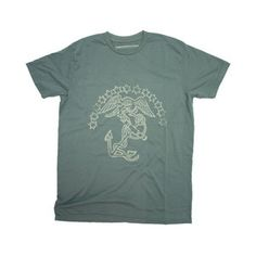 Eagle Globe Anchor Tee Green now featured on Fab.