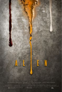 Alien alternative movie poster