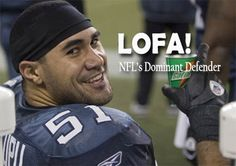 LOFA TATUPU of the Seattle Seahawks is the best linebacker in the NFL, period. Tatupu, the Plainville, Mass.-born son of former NFL running back Mosi Tatupu, was named NFC Defensive Player of the W...