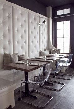 Dining Room Restaurant Booth Seating Design, Pictures, Remodel ...