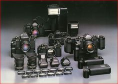 Canon's F-1 System