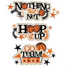 Basketball Titles SVG scrapbook cut file cute clipart files for silhouette…
