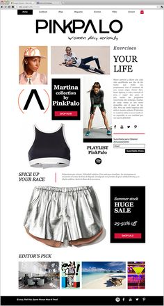 Pink Palo | Workout Clothes
