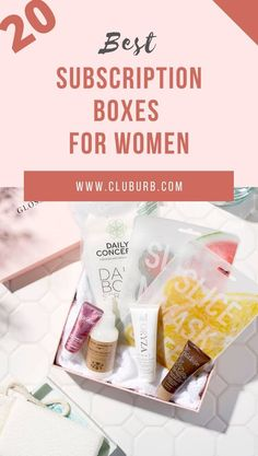 20 Best Subscription Boxes for Women Right Now Monthly TLC delivered with these 20 Subscription Boxes for Women. Which one would you pick? Best Monthly Subscription Boxes, Wine Subscription, Beauty Trends, Beauty Tips, Beauty Box Subscriptions, Makeup Box, Clay Animals, Clay Miniatures, Clay Tutorials