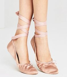 Meet the New Wave of Ballet Flats via @WhoWhatWear