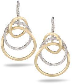 Marco Bicego Diamond Jaipur Link Earrings