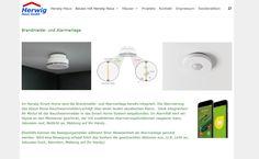 Brandmelde- und Alarmanlage sind jetzt mit im Smart Home integriert! Mehr Infos unter: http://herwig-haus.de/?page_id=107