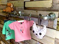 Steigerbuis voor ophangen kleding of speelgoed