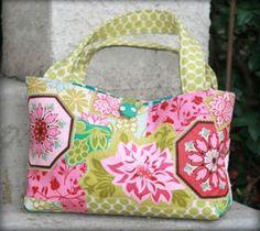 Handbag Designs with Pockets - Newport Bag Pattern - Purse Sewing
