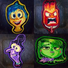 Believe it or not, these are Pancakes! Lots of Pixar pancakes + other cool characters via the DrDancake Instagram feed
