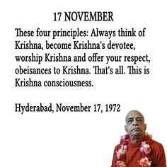 Become Krishna Conscious! Radha Krishna Quotes, Radha Krishna Pictures, Krishna Love, Krishna Art, Lord Krishna, Sanskrit Quotes, Gita Quotes, Radhe Krishna, November Quotes