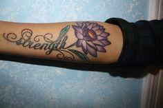strength tattoos, ideas for women, arm design