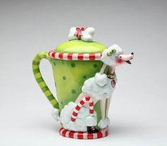 Poodle Teapot