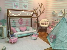 Over 30 elegant and chic decorating ideas for children's bedrooms – for girls and boys – Colorful Baby Rooms Baby Bedroom, Baby Room Decor, Girls Bedroom, Bedroom Decor, Bedroom Ideas, Sister Room, Toddler Rooms, Toddler Bed, Little Girl Rooms