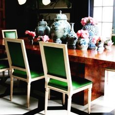 Still thinking about dining rooms... #thanksgiving2017