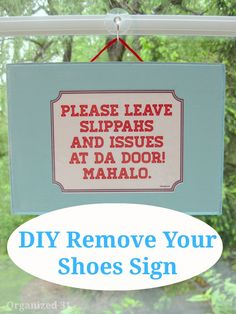 Please Remove Your Shoes Vinyl Decal Sticker Front Door To Be - Custom vinyl sign stickers   removal options