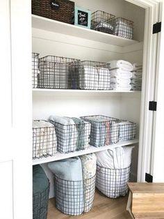 The beauty of linen closet organization makeover 33