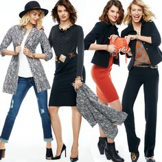 #cabi - Looking to get maximum use from your wardrobe? We'll show you how to play with these fall staples.