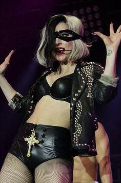 Lady Gaga wearing Cafe Society