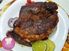 carne de porco assada na panela, cozida lentamente com sabor e maciez surpreendente