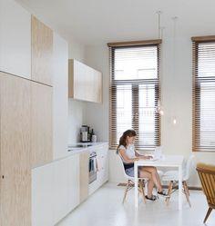 Loft minimalista de 40 m2