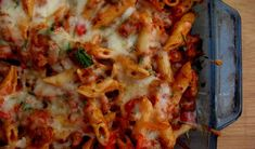 Cheesy pasta with large pieces of spicy sausage make this the ultimate in comfort food. Serve with a side salad and bread for the ultimate winter meal.
