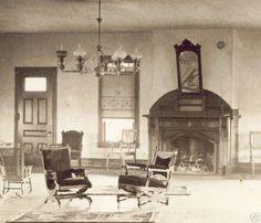 """Hall interior 1880's"""