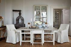Romantický škandinávsky dom   Living styles