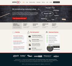 Omnix CMS by Roman Káčerek, via Behance