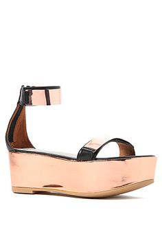 Jeffrey Campbell Shoe Lars in Rose Gold: Miss KL  #MissKL #MissKLCoachella