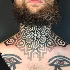 Neck tattoos are one of the most badass tattoo ideas for men because of their bold placement and rebellious nature. Given its location, a neck tattoo is guaranteed to get…View Post Crown Neck Tattoo, Back Of Neck Tattoo, Neck Tattoo For Guys, Cool Tattoos For Guys, Badass Tattoos, Hot Tattoos, Simple Neck Tattoos, Tribal Neck Tattoos, Full Neck Tattoos