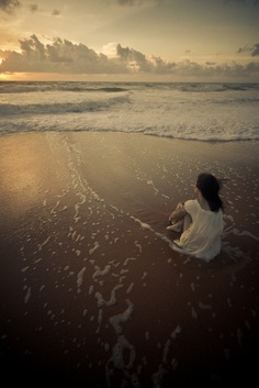 I love the peace that solitude brings. Solitude is not loneliness. Am Meer, My Happy Place, Solitude, Belle Photo, Seaside, Coastal, Surfing, Scenery, In This Moment