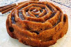 עוגת מייפל וקינמון (צילום: אבירם פלג)